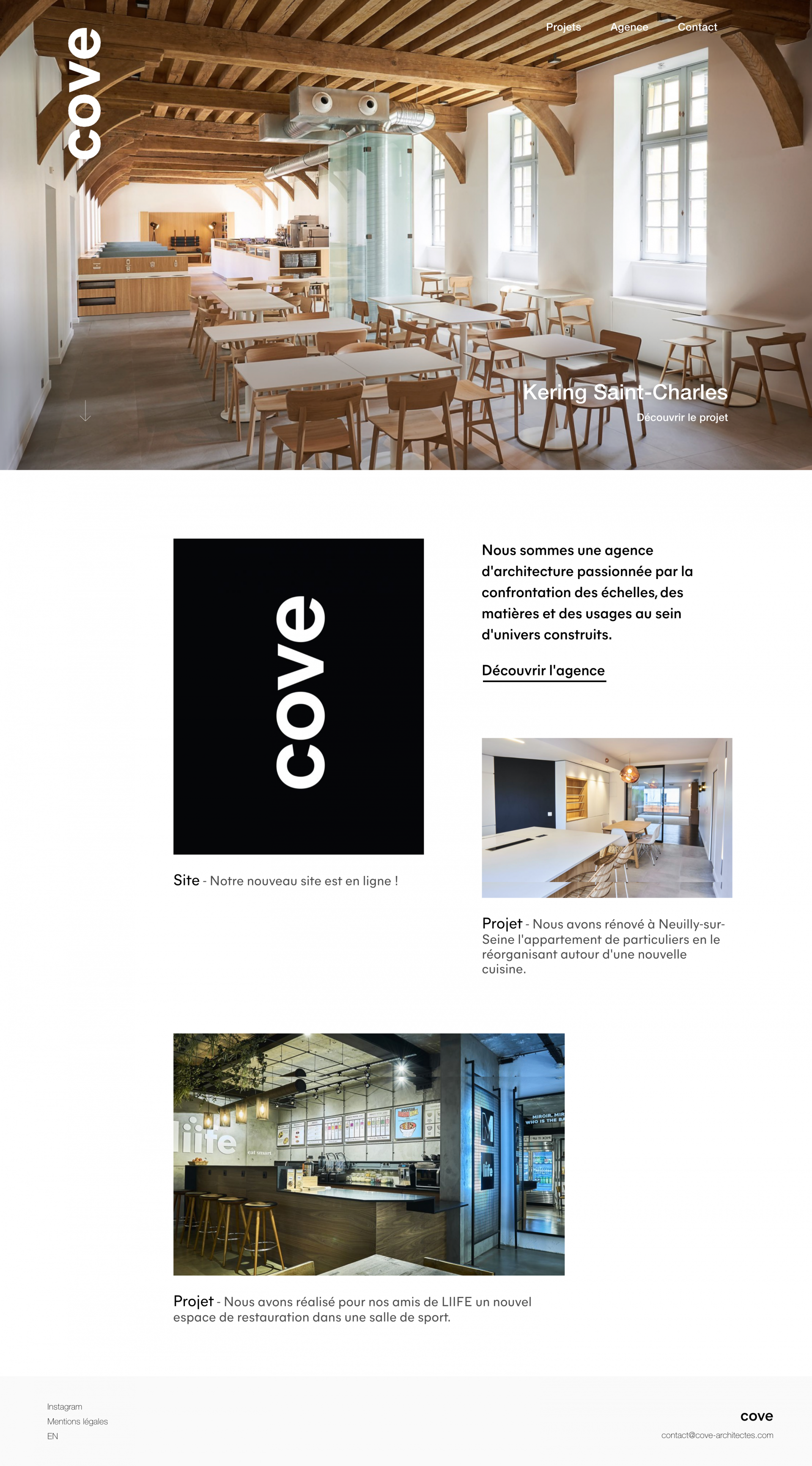 COVE architectes